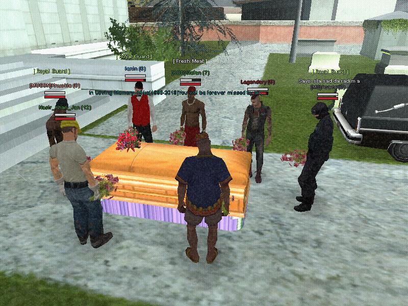 Mike's Memorial - Screenshot by Max